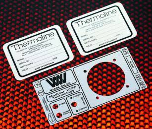 Solid Aluminium Labels